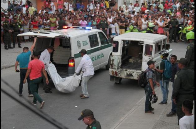 Mujer fue asesinada en el barrio Daniel Lemaitre.