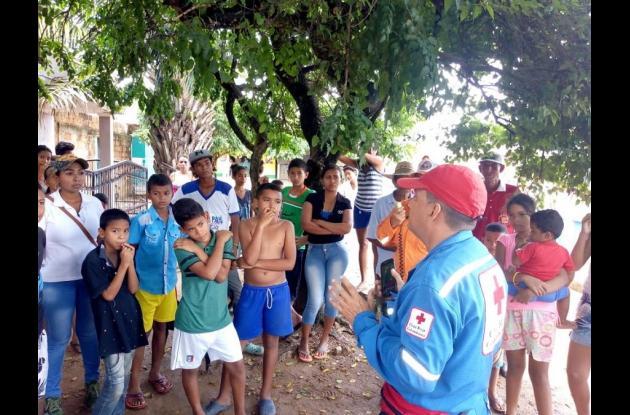Advierten rutas de evacuación a habitantes de Ayapel.