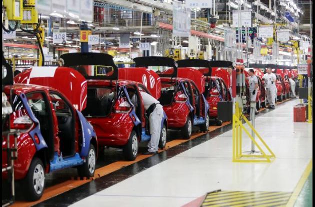 Fabrica de autos Fiat en Betim, Brasil