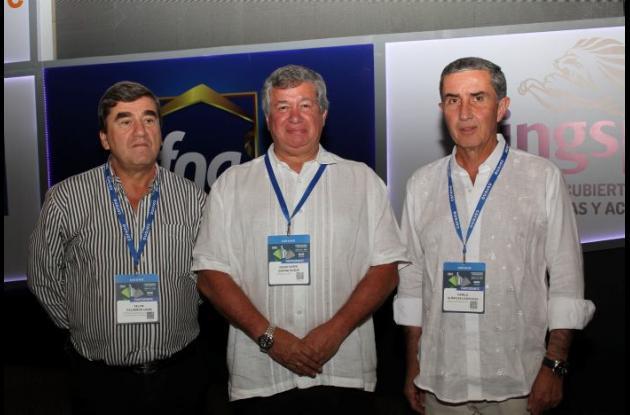 Felipe Calderón Uribe, Diego Ospina Duque y Camilo Albán Saldarriaga.
