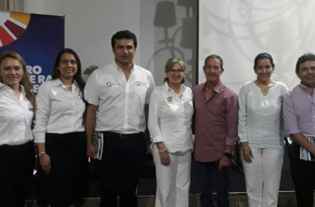 Jeimi Vargas, Paola Mercado, Camilo Mejía, Mery Luz Londoño, Fernando Araujo, Érica Martínez, Jorge Cárcamo.