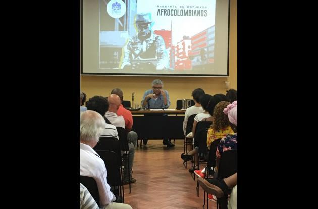 Instalación del lanzamiento de la maestría afrocolombiana