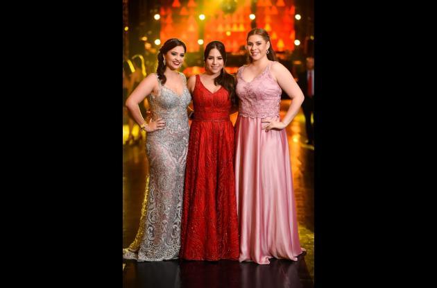 Natalia Mariño Narváez, Sabina Andrea Betancourt Gutiérrez y Paula Silgado Meza.