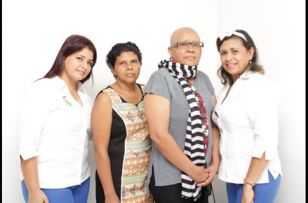 Nidia Gómez, Margedis Blanco, Míriam Arrieta y Nadia Cortinez.