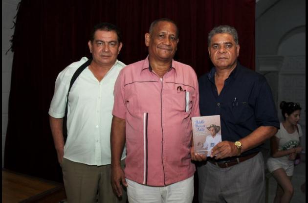 Pascacio Puello, Domingo Atencio y Gustavo Ospino.