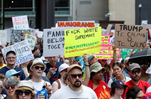 Protestas en Estados Unidos.