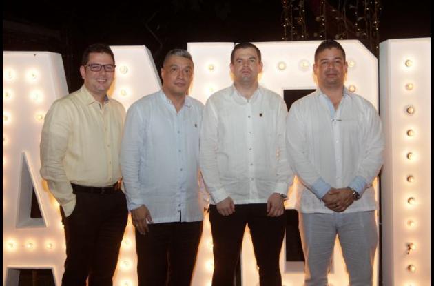 Ramón Vargas, Fray Eduardo Martín Fernández, Fray Sergio Rojas y Luis Felipe Perilla Pasquel.