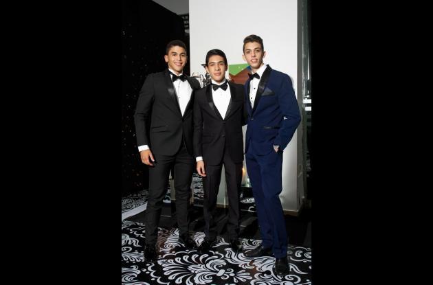 Rodrigo Figueredo, Juan Pablo Merlano y Munir Meramo.