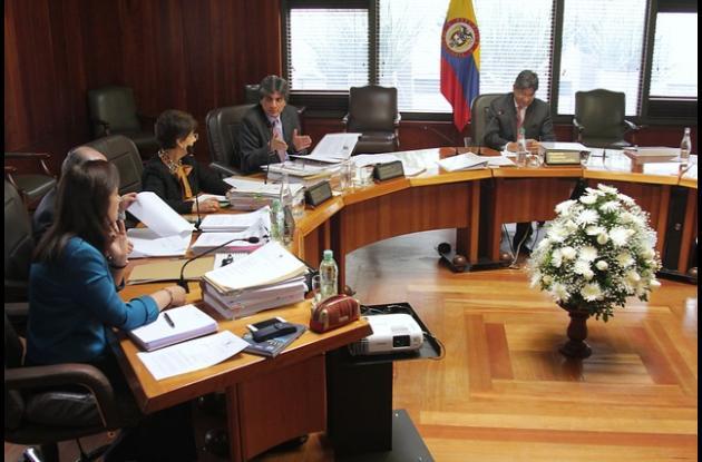 Sala Plena Corte Constitucional.