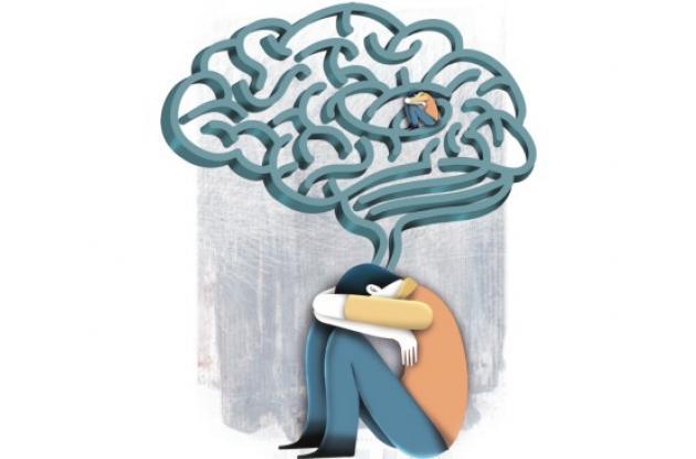 Foto de ilustración para nota sobre la salud mental.