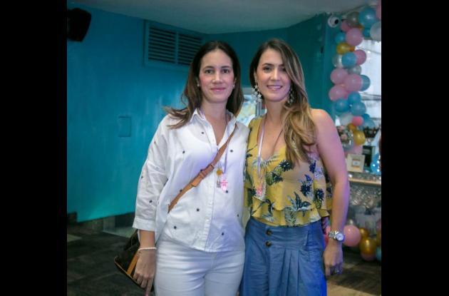 Sara Stisin y Andrea Segovia.