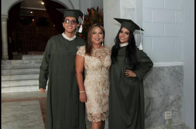 Sergio González, Diana Pachón y María Daza.
