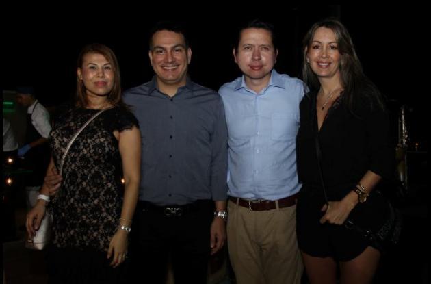 Susana González, Julio Beltrán, Rafael Álvarez y Ximena Illera.