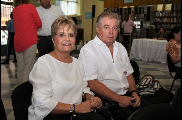 Tatel Pacheco y John Gilchrist.