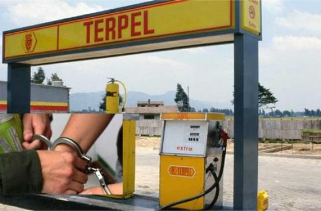 Estación de gasolina de Terpel.
