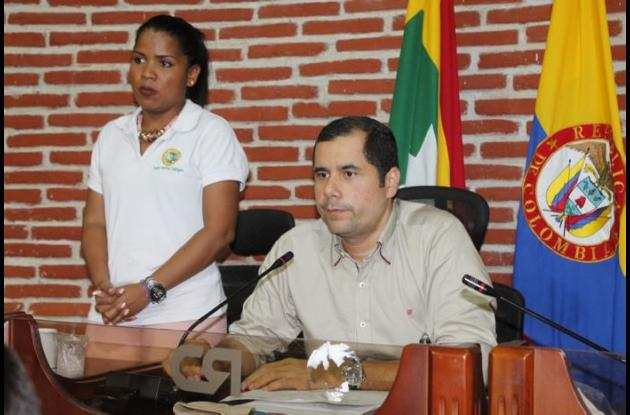 Wilson Toncel, presidente del Concejo.