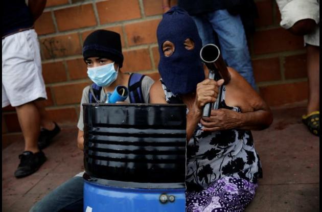 Abuelas manifestantes en Nicaragua.