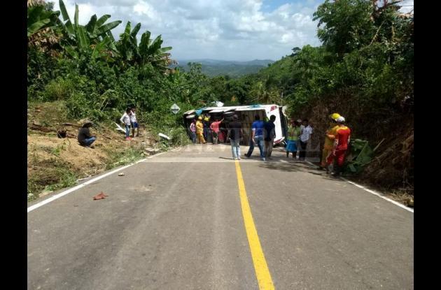 Accidente de bus de la UdeC