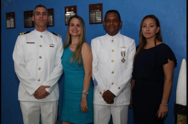 Andrés Gutiérrez, Vanessa García, Hugo Velasco y Liliana Méndez.