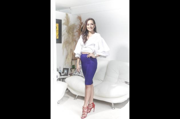 Angie Mujica Ballesteros, aspirante a Señorita Cartagena 2018.