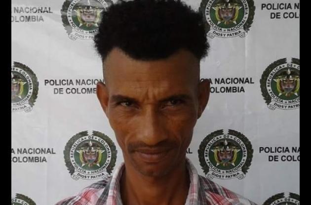 Omar Geovanny Castro Comas, capturado con drogas en Magangué.