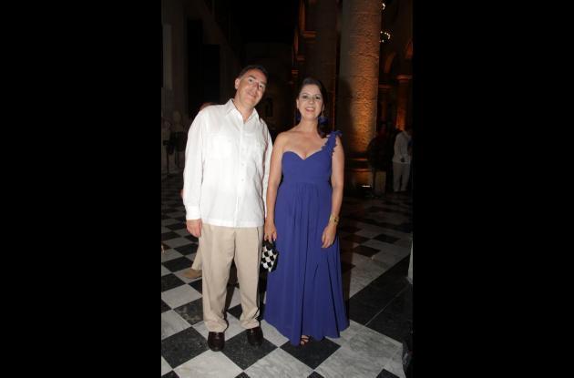 Camilo Posse y Ana María Posada.