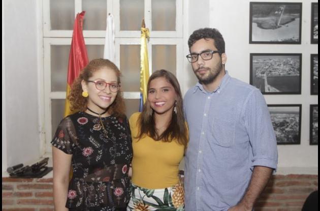 Catalina Suárez, Mafe Martínez y Jorge Nordmann./