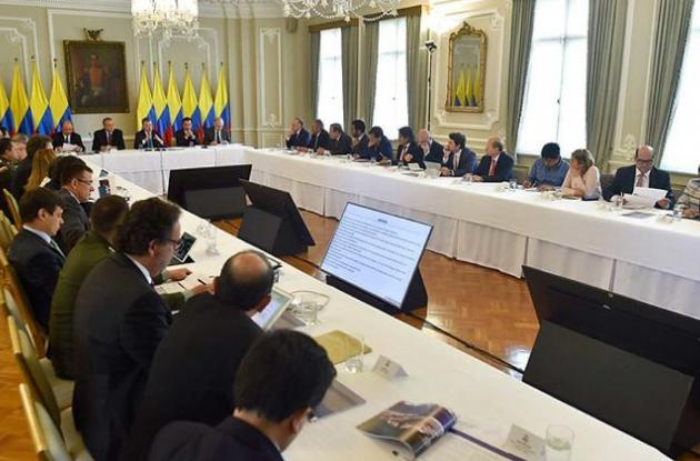 reunión presidencial