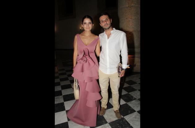 Daniela Barón y Felipe Pinzón.