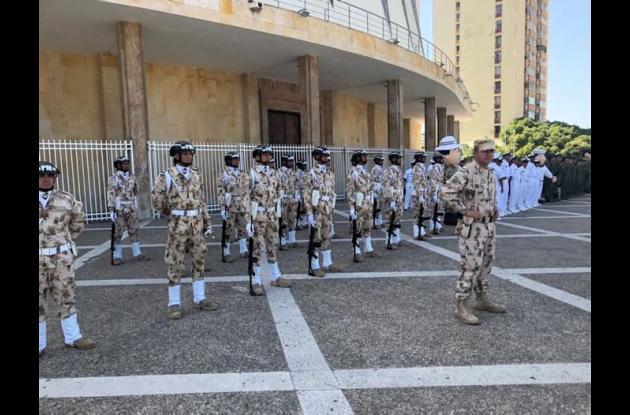 Formación de las Fuerzas Militares