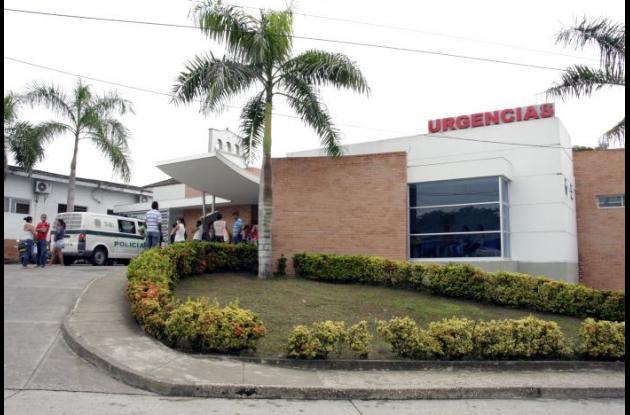 Fachada del hospital de Corozal.
