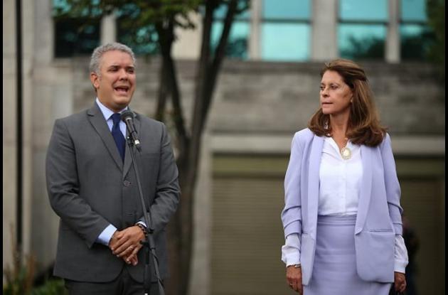 Iván Duque y Martha Lucía Ramírez.