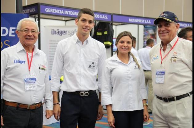 Jairo Figueroa, Gustavo Carballo, Nathalie Zetién y Germán Spicker.