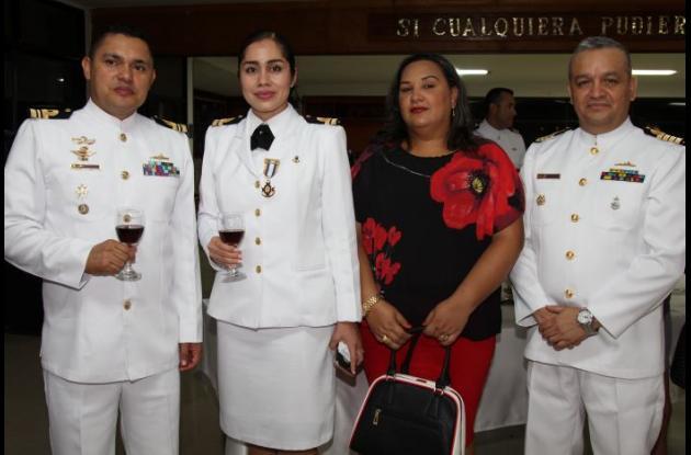Jorge Escobar, Diana Perdomo, Nora Viana y Carlos Rodríguez.