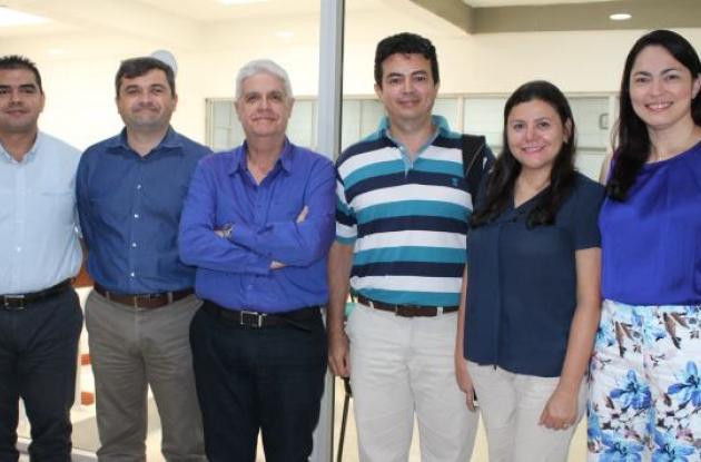 José Amador, Jairo Useche, Jorge Muñiz, Miguel Garcés, Patricia Velásquez y Karen Franco.