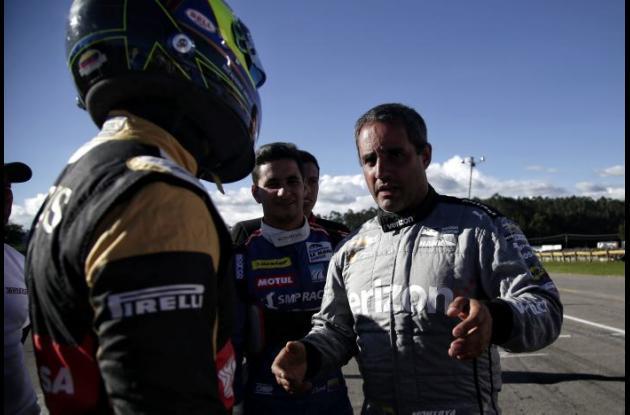 Juan Pablo Montoya. Autódromo de Tocancipa. 2016.