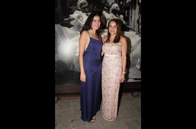 Julia Sáenz e Ilva Lorduy.