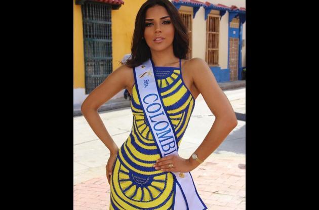 Señorita Colombia Laura Gonzalez