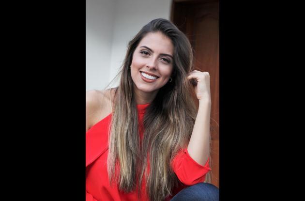Luisa Fernanda Puente Escobar, aspirante a Señorita Cartagena 2018.