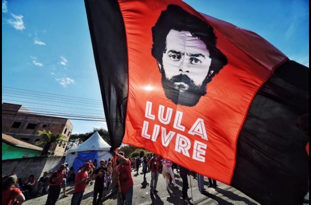 Las protestas son para exigir la liberación del expresidente brasileño y defender su candidatura para las elecciones de octubre.