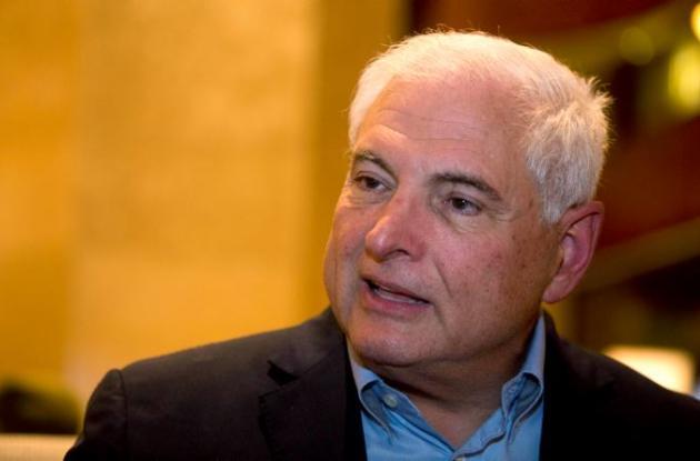 El expresidente panameño Ricardo Martinelli
