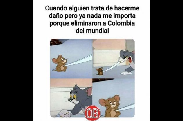 Meme de Tom y Jerry.
