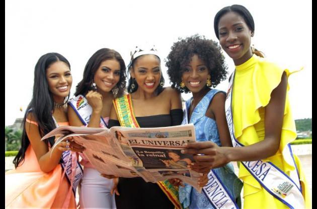 54 mujeres en Cartagena en competir por la corona del Reinado de la Independencia este año.