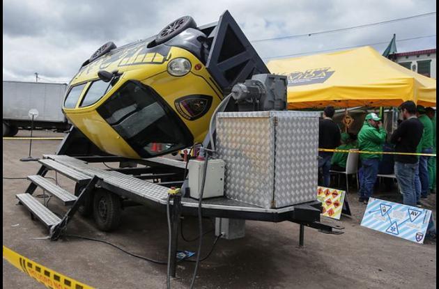 simulador vial de accidentes