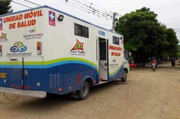 Unidad Móvil Médica en El Carmen de Bolívar