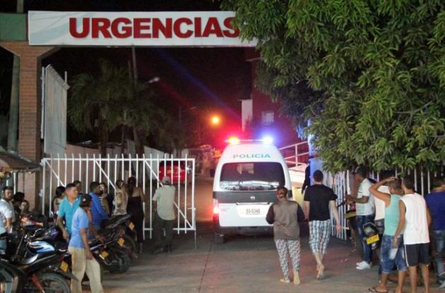 La persona que finalmente resultó muerta y los heridos fueron llevados al Hospital Universitario de Sincelejo.