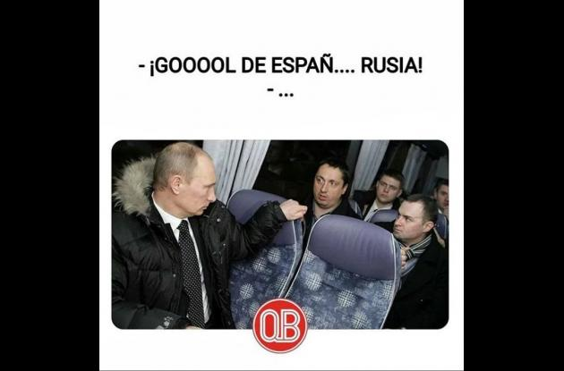 Meme de Vladimir Putin.