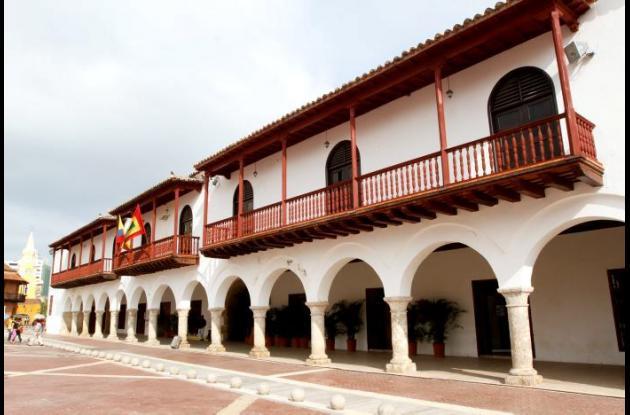 Imagen del Palacio de la Aduana en Cartagena