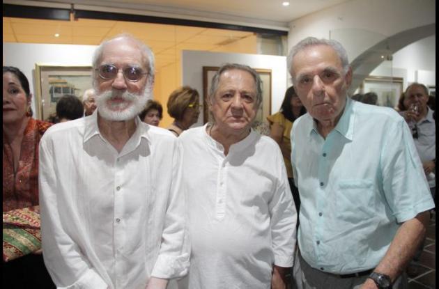 Alfredo Guerrero, Camilo Calderón y Luis Mogollón