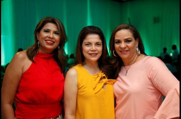 Ana María Mendoza, Ofelia Castillo e Irene Gutiérrez.